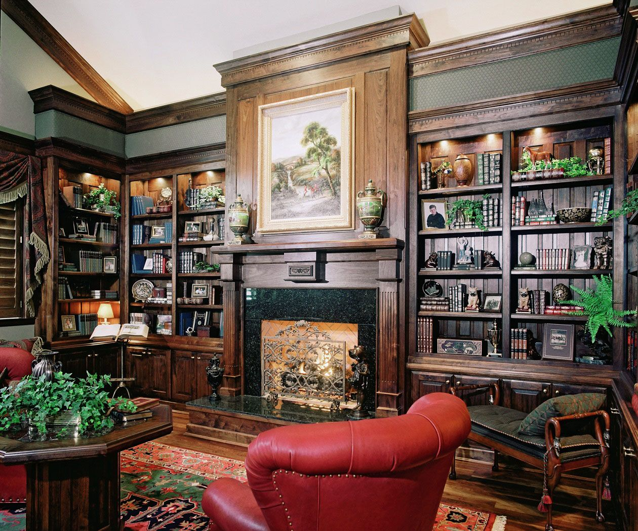 Home Library: 30 Classic Home Library Design Ideas Imposing Style