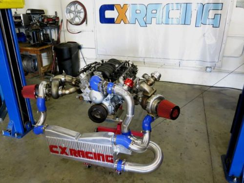 CXRacing Twin Turbo Intercooler Kit For 04-06 Pontiac GTO