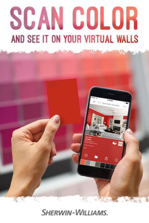 Colorsnap Visualizer For Iphone And Android Allows You To Scan Any Sherwin Williams Color Card Explore That