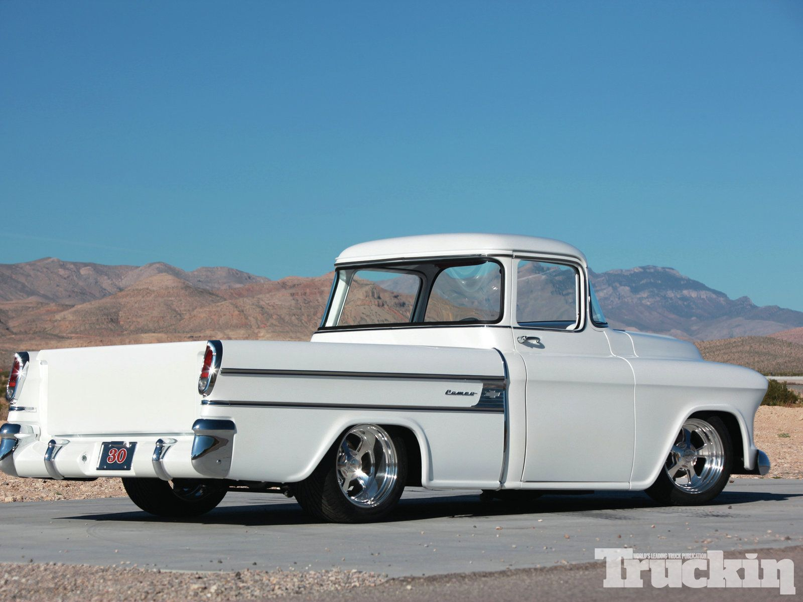 Red 1957 chevy cameo trucks pinterest chevy cars and classic trucks