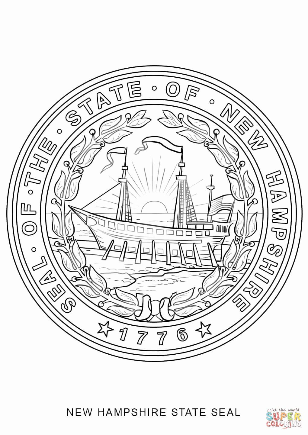 Wisconsin State Flag Coloring Page Beautiful Lovely New Jersey