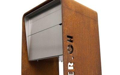 Design Briefkasten Bellus Chromstahl Briefkasten Entrance Und Design