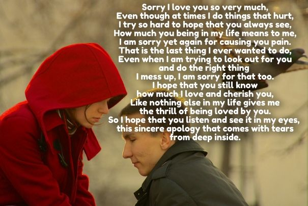 Sorry Quotes For Her Im Sorry Love Poems For Her  Cute Love Quotes For Her  Pinterest .