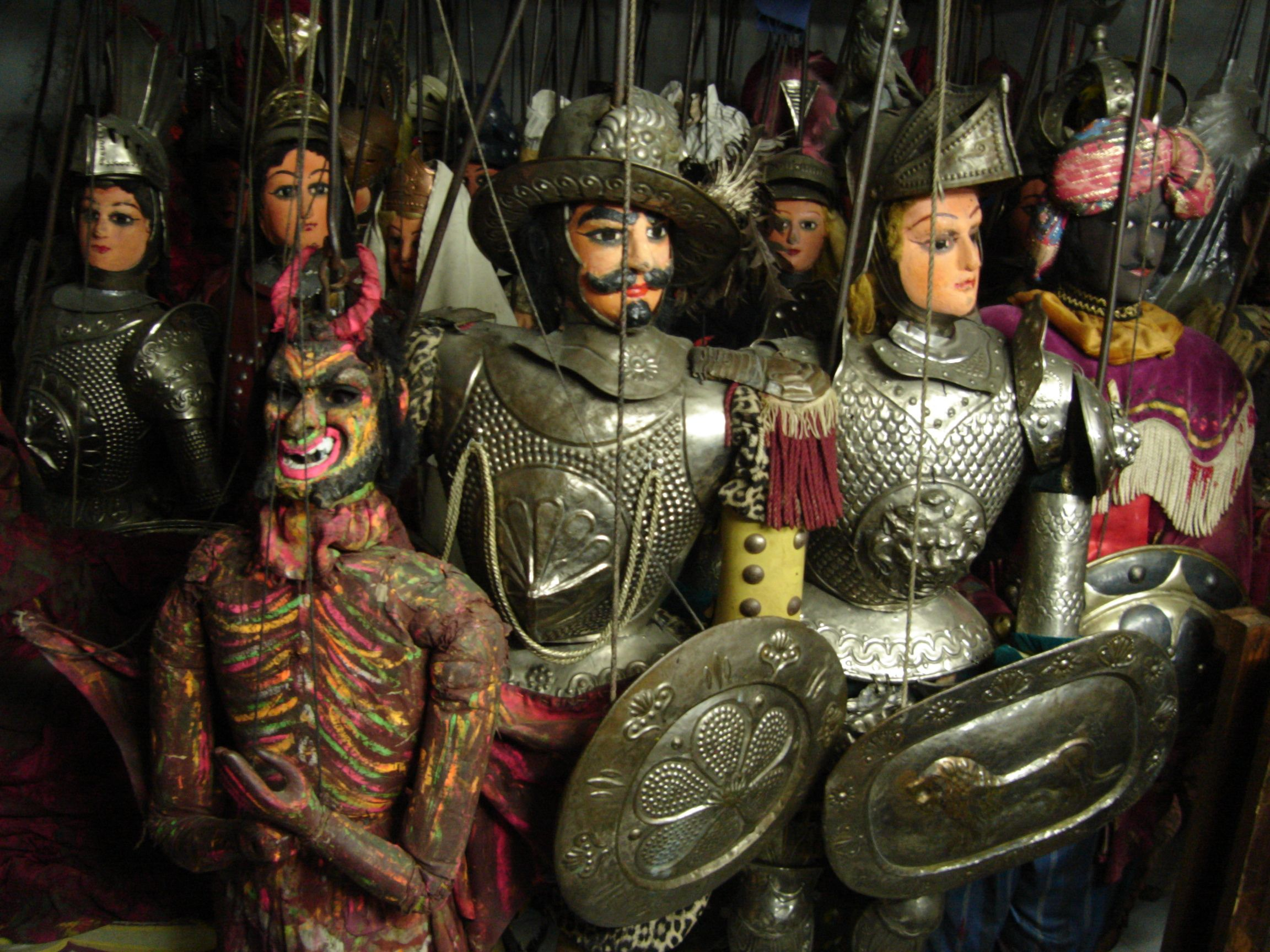 Pupi Siciliani, or Sicilian puppets, tell ancient stories ...