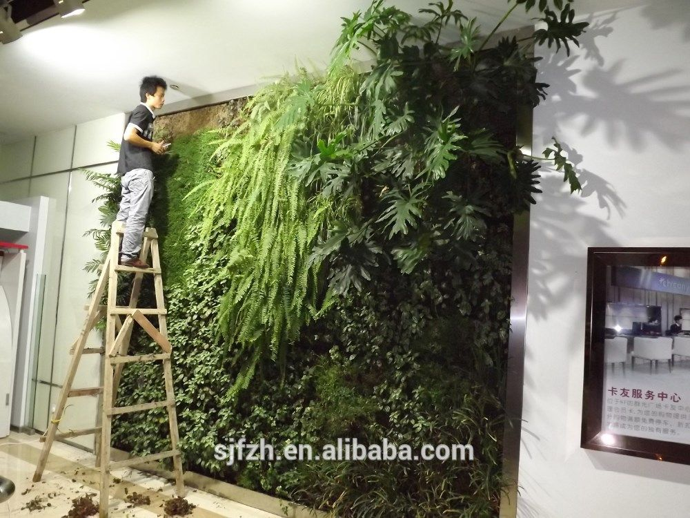 Home Decorations Artificial Living Wall For Indoor 1.000