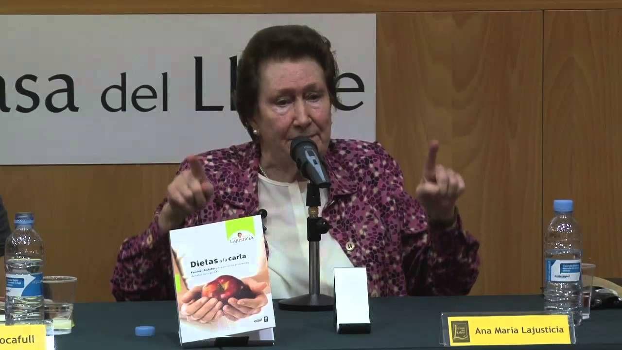 Conferencia Ana Maria Lajusticia Salud Salud Y Deporte Y Dietas