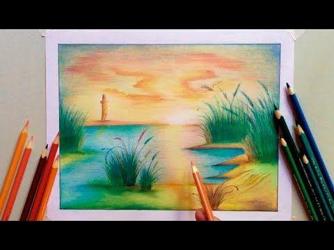 Pin En Pintando Con Pastel Y Lapices De Color