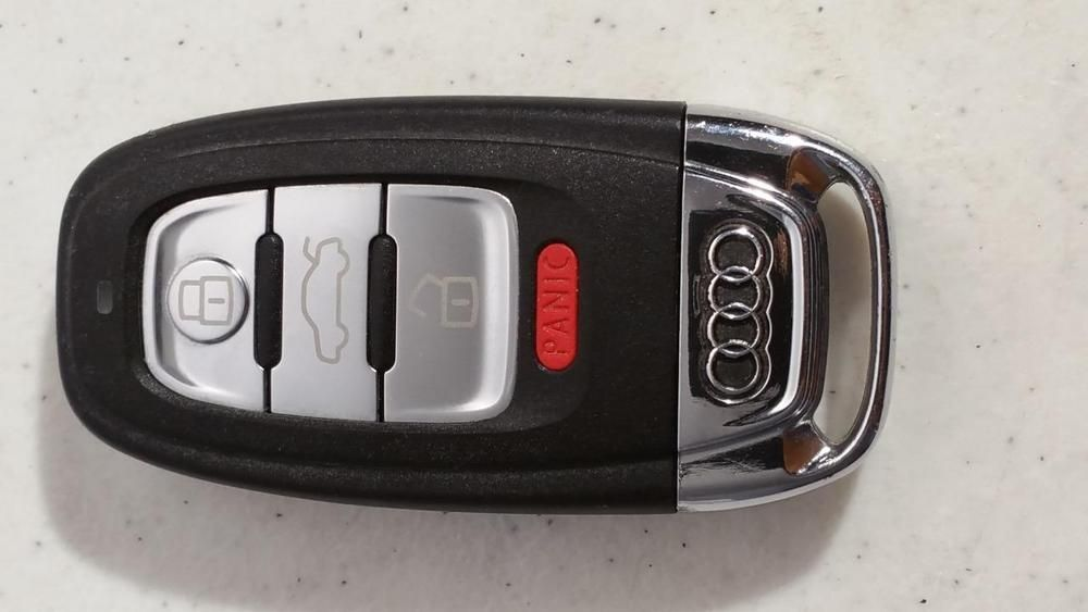 $30.95 Used Audi  4 Button Remote Entry Fob Keyless Entry FCC:IYSFBSB802 8K0.959.754F #Audi