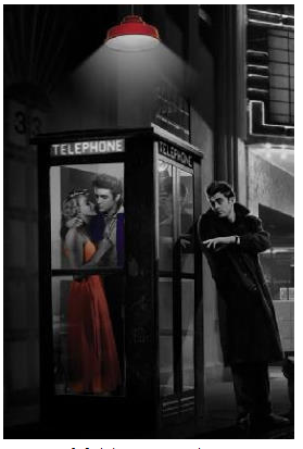 Telephone Booth Marilyn Monroe Elvis Presley And James Dean Fave