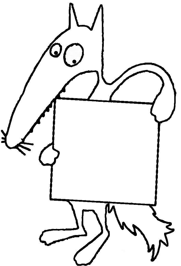 Index 1 Jpg 750 1 100 Pixels Coloriage Loup Loup Etiquette Porte Manteau Maternelle