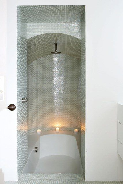 Great use of small space interior design in 2019 - Small showers for small spaces ...