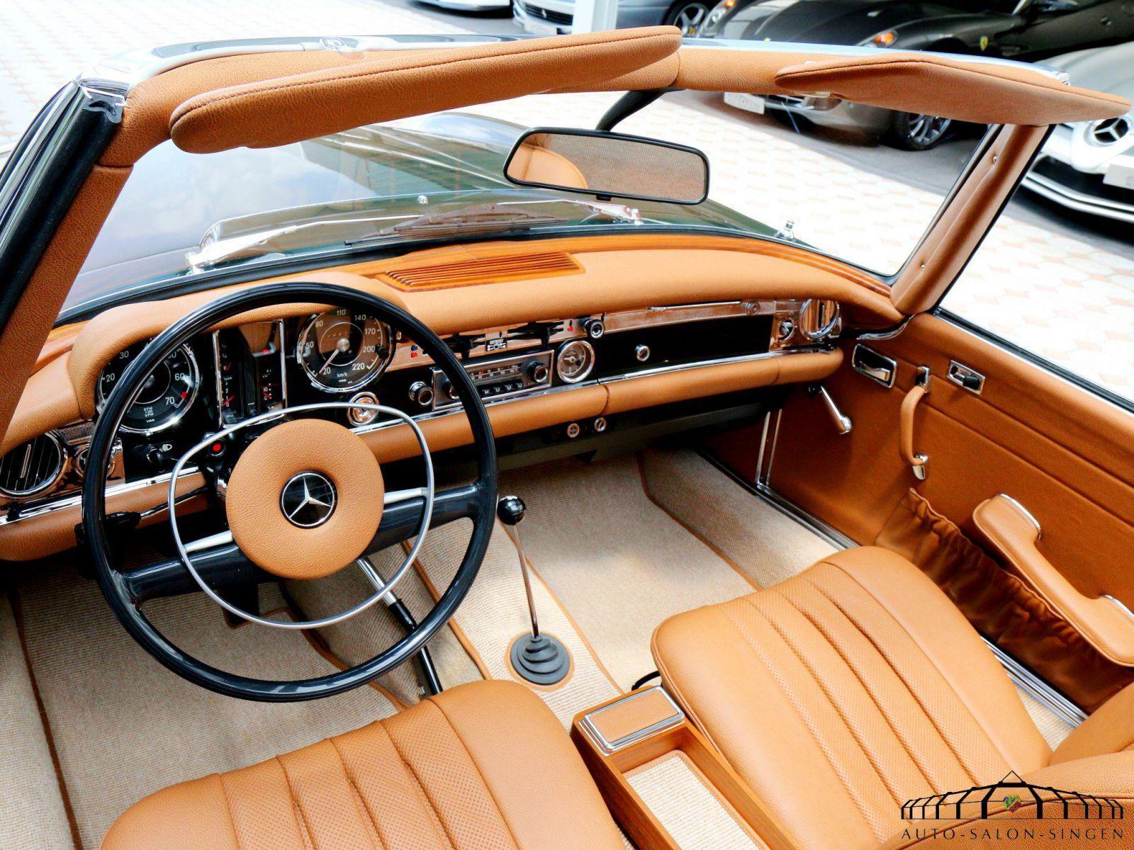 mercedes benz 280 sl pagode mercedes benz classic mercedes interior. Black Bedroom Furniture Sets. Home Design Ideas
