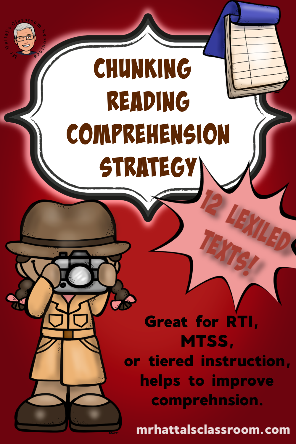 Chunking/Parsing the Text Lexiled Text for RTI/MTSS Reading