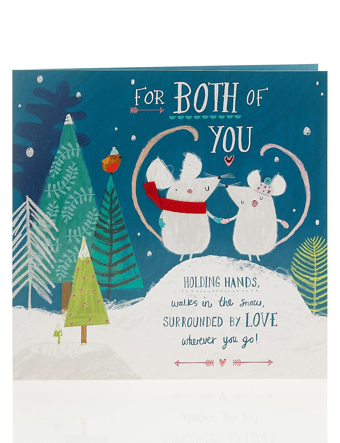 Twice as mice couples christmas card illustrations pinterest ask marks spencer the product that i am looking for is currently not available online m4hsunfo