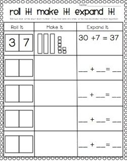 Place Value Blocks Worksheets For First Grade Worksheets for all ...