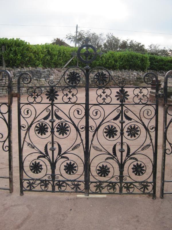 Arts U0026 Crafts Style Antique Garden Gates. C.