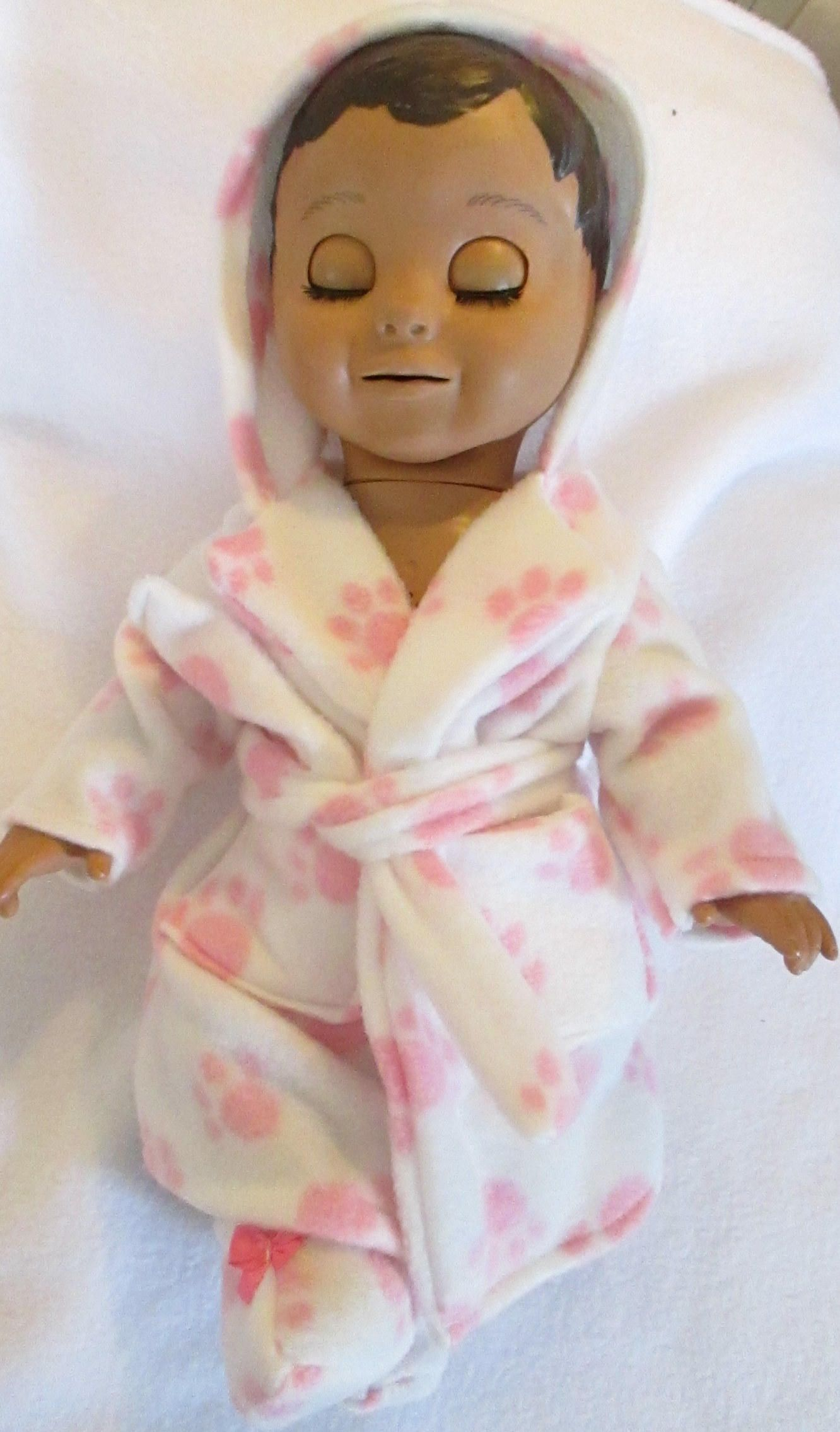 Luvabella And Luvabeau Doll Clothes Boy Girl Dolls Hooded Robe