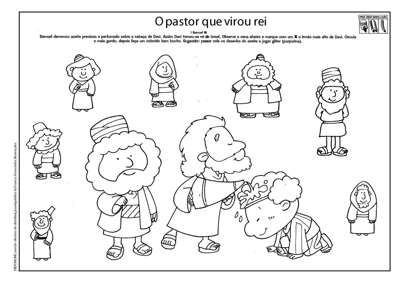 Perfecto Samuel Para Colorear Viñeta - Dibujos Para Colorear En ...