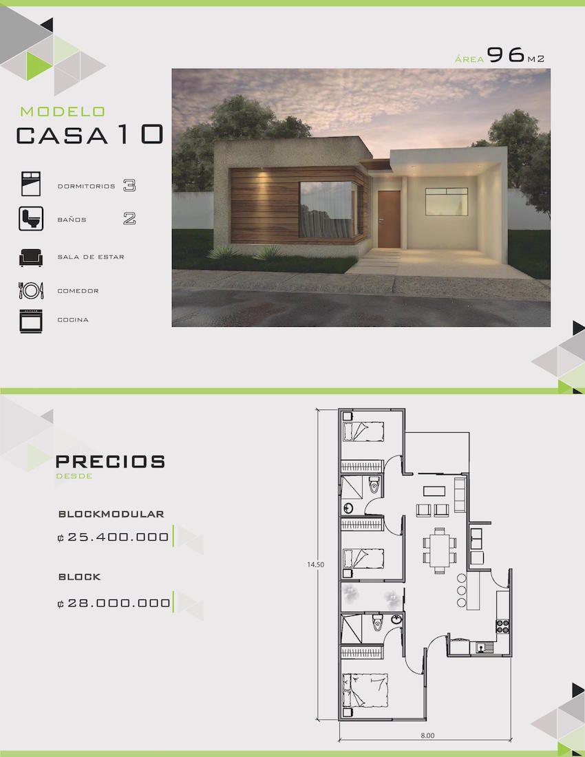 Modelos y dise os de casas de un piso costa rica casas y for Casas prefabricadas pequenas