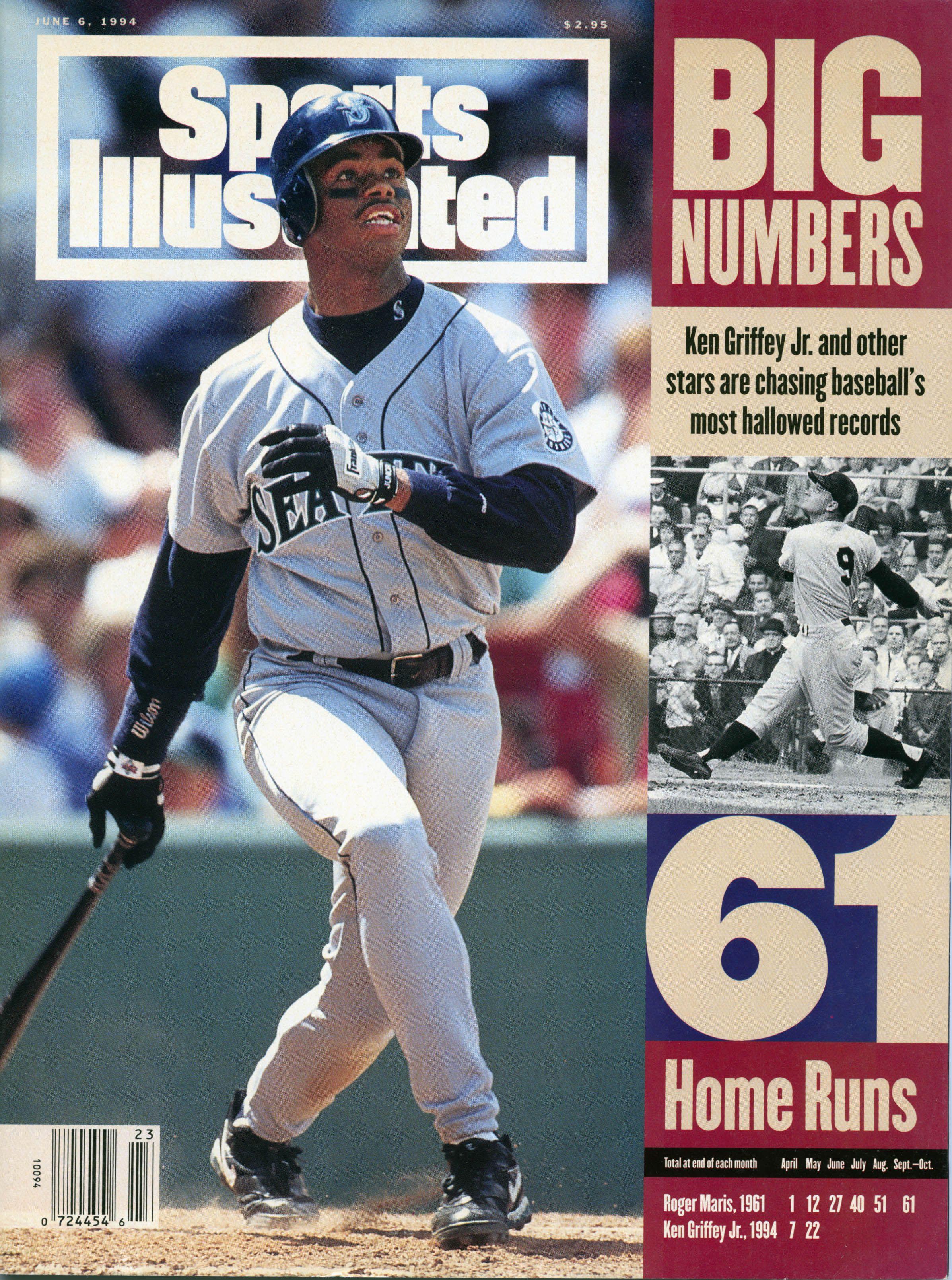 d87812afe0 Ken Griffey Jr., Sports Illustrated (June 1994)   The Cover Boys ...