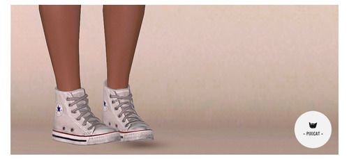 Empire Sims 3: Converse for Female - Male YA/A and Teens by Pixicat