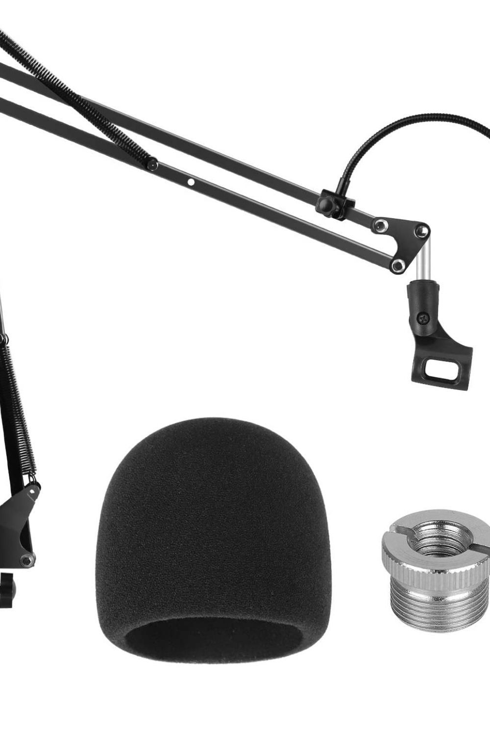 Microphone Stand PC Mic Microphone Stand Heavy Duty Microphone ...