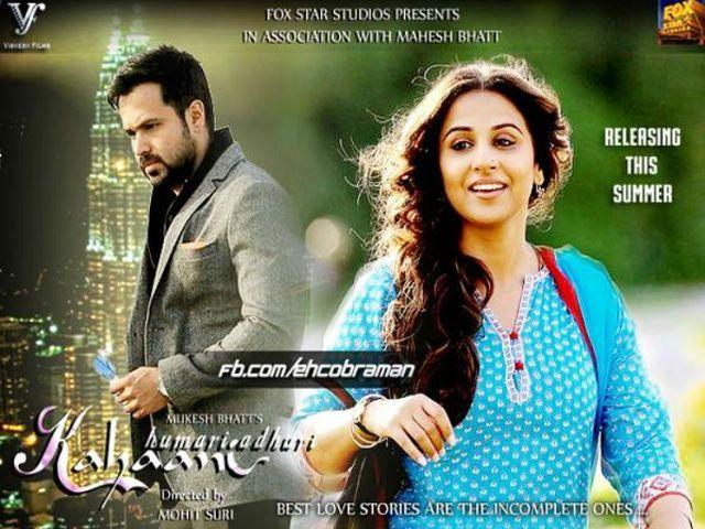 DvdRip Hamari Adhuri Kahani (2015) – 300mb Movies 300mb