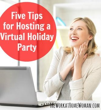 Five Tips For Hosting A Virtual Holiday Party In 2020 Company Holiday Party Holiday Party Themes Virtual Party