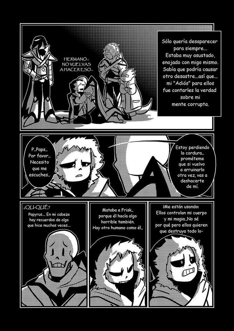 X Tale Comic Espanol Undertale Dibujos Comic Undertale Personajes