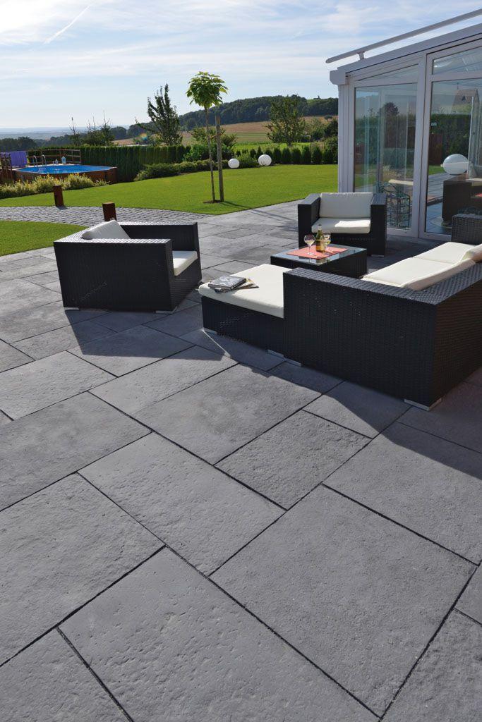 die besten 25 natursteinplatten ideen auf pinterest vor gehweg landschaftsbau pflastersteine. Black Bedroom Furniture Sets. Home Design Ideas
