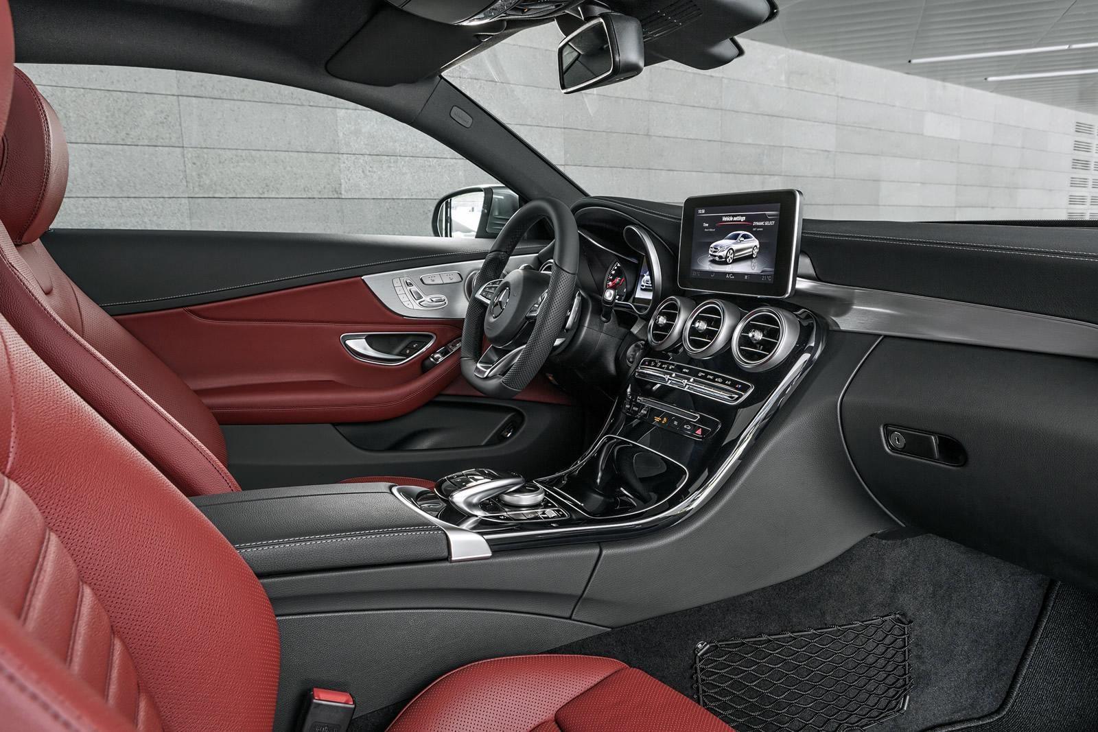 Image Result For Red Mercedes Glc Interior Benz C Mercedes Benz