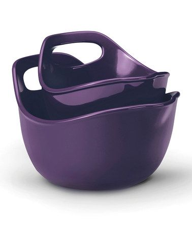 Take A Look At This Rachael Ray Purple Mixing Bowl Set By A Colorful Kitchen :
