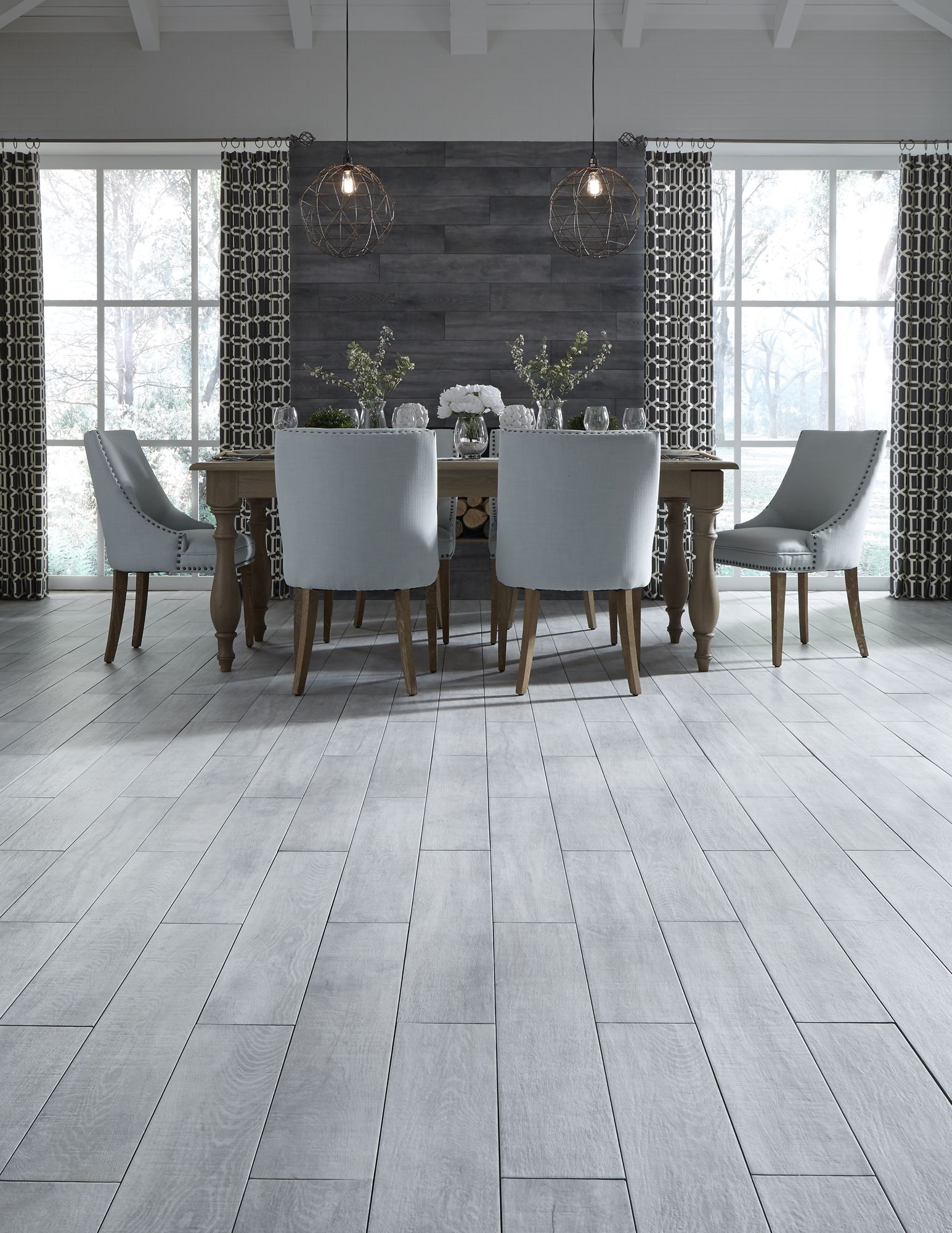 Waterproof Wood Look Tile Gives Any Room The Elegant Look Of