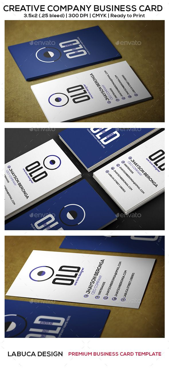 Creative company business card business cards business and creative creative company business card reheart Images