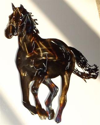 Running Horse Metal Wall Art home decor. Shop now at iron-artz.com ...