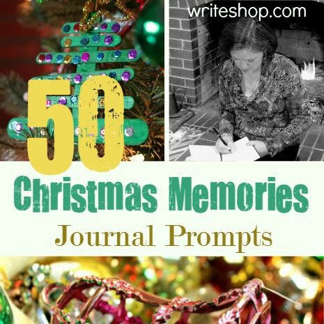 50 Christmas Memories journal prompts | December daily
