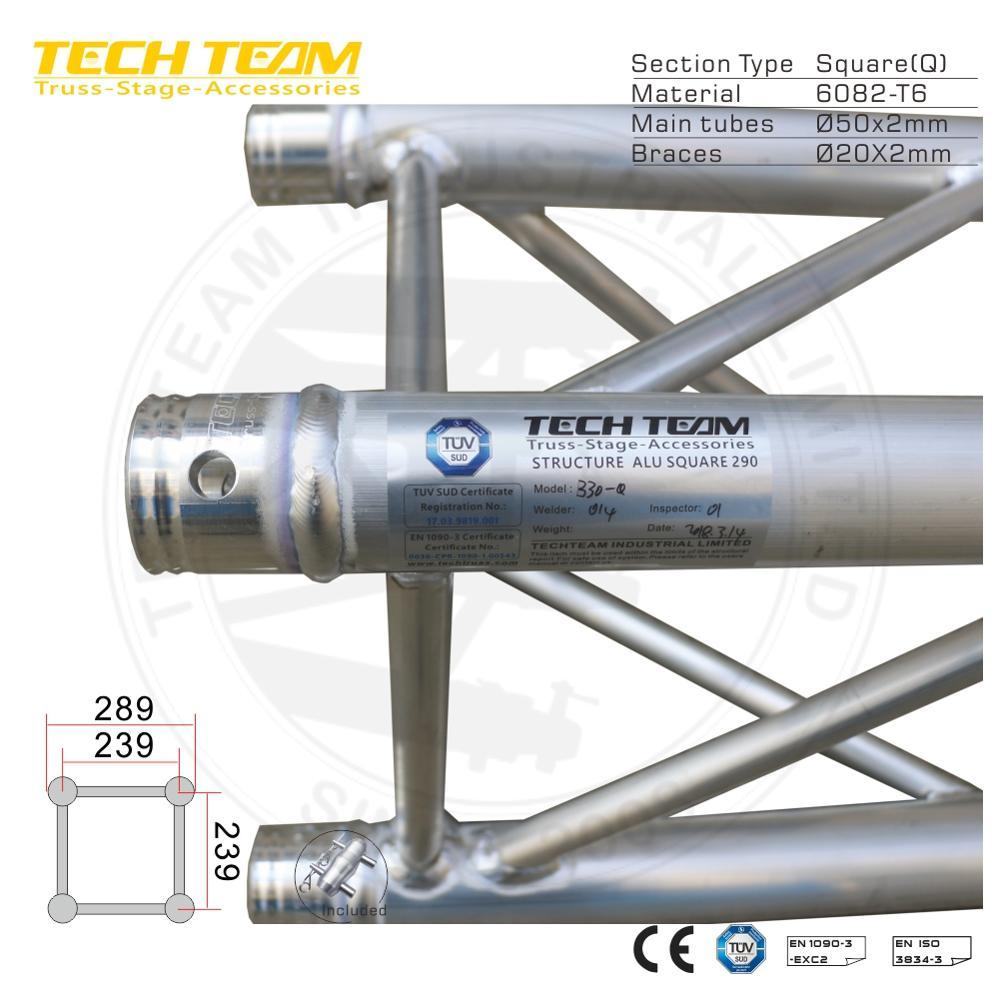 Tech Team Truss Outdoor Truss Aluminum Roof Truss - Buy