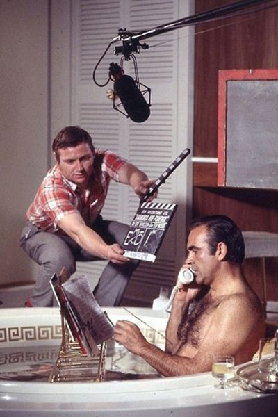 sean connery | filming 007 | oliver grand