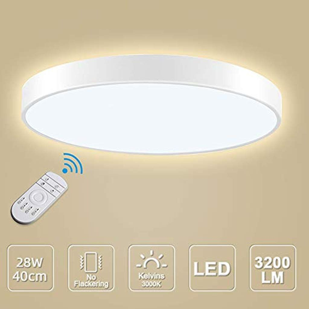 LED Deckenleuchte LED Deckenlampe Kaltweiß Warmweiß Rund