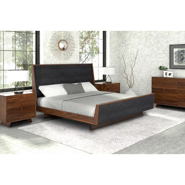 Keaton Upholstered Sleigh Bed in 2020 Upholstery bed