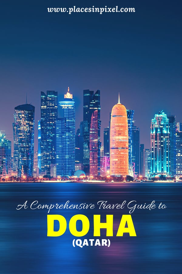Check out our quick guide to DOHA - the capital city of Qatar. Find out the best time to visit, how to reach, top places and much more. #doha #qatar || Doha Travel Guide || Places to visit in Doha