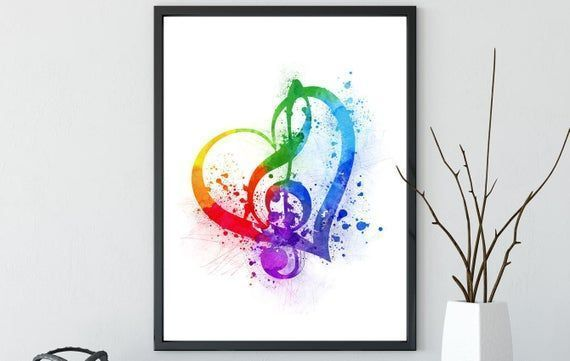Treble Clef Music, watercolor treble clef, colorful treble clef, watercolor print, poster treble clef, home decor, gift musician, art #trebleclef Treble Clef Music, watercolor treble clef, colorful treble clef, watercolor print, poster treble cle #trebleclef Treble Clef Music, watercolor treble clef, colorful treble clef, watercolor print, poster treble clef, home decor, gift musician, art #trebleclef Treble Clef Music, watercolor treble clef, colorful treble clef, watercolor print, poster trebl #trebleclef