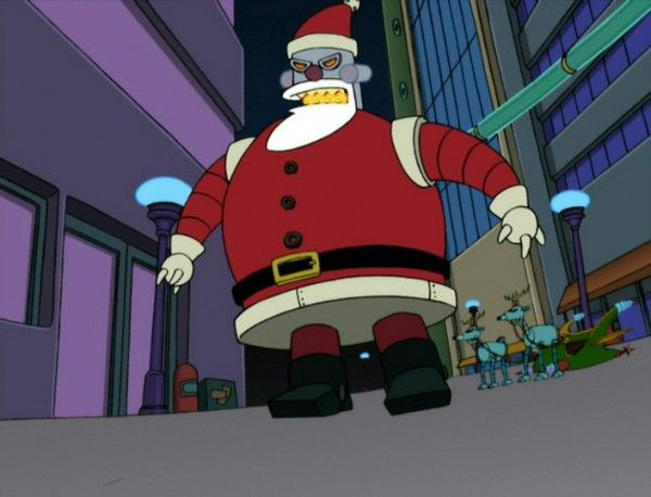 Everything You Need To Know About Futurama Robot Santa Christmas Horror Christmas Horror Movies