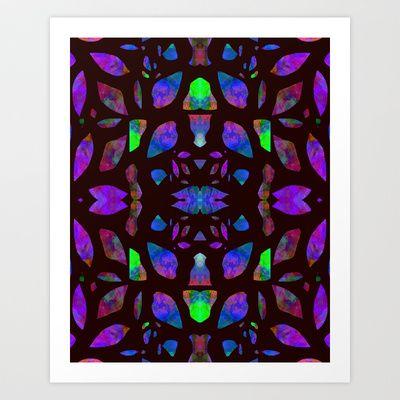 Mineral+Stain+Art+Print+by+Nina+May++-+$33.28