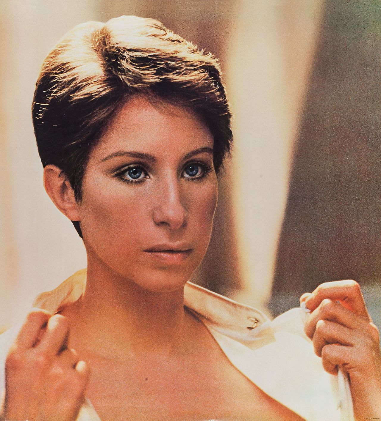 barbra streisand (she looks great with short hair) | barbra