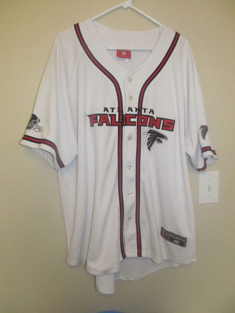 8246c0f04 Atlanta Falcons Baseball jersey - NFL Adult 2XL  NFL  AtlantaFalcons ...