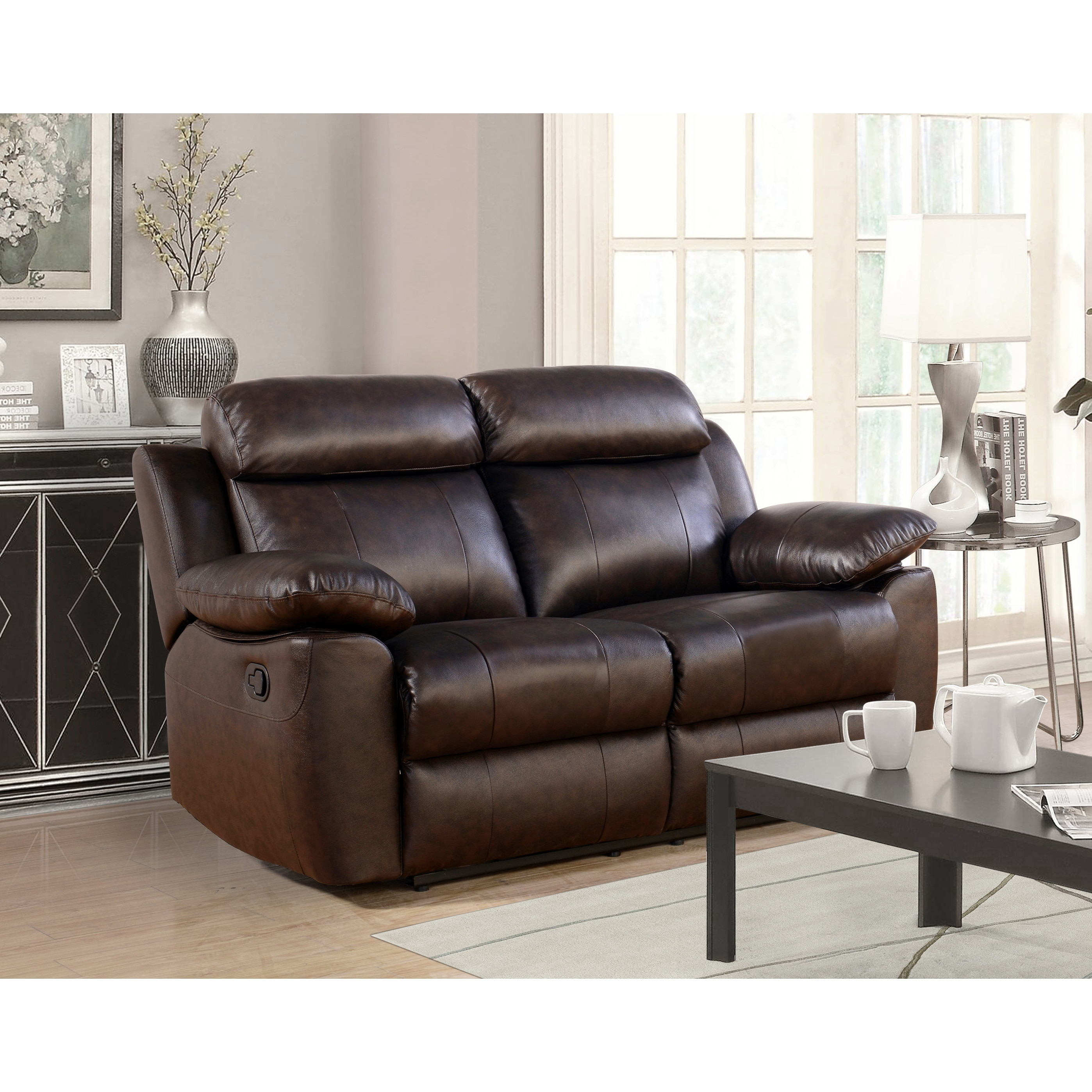 Overstock Com Online Shopping Bedding Furniture Electronics Jewelry Clothing More Leather Reclining Sofa Reclining Sofa Leather Reclining Loveseat