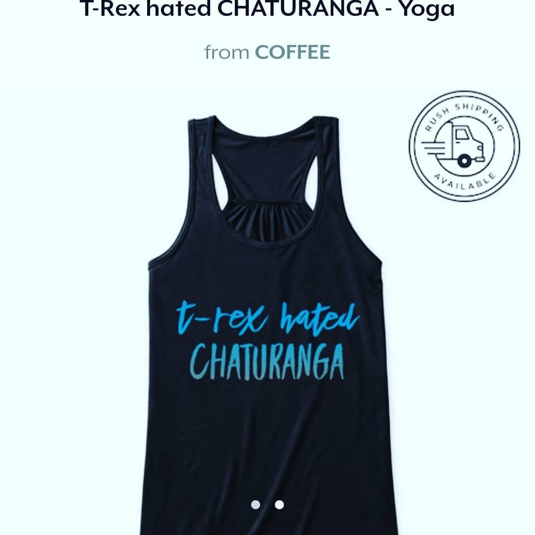 T Rex Hated Chaturanga Link In Bio Yogamaniac26 Yogapose Jurasic Park Tonight Clothes Pictures Yoga Everyday Chaturanga