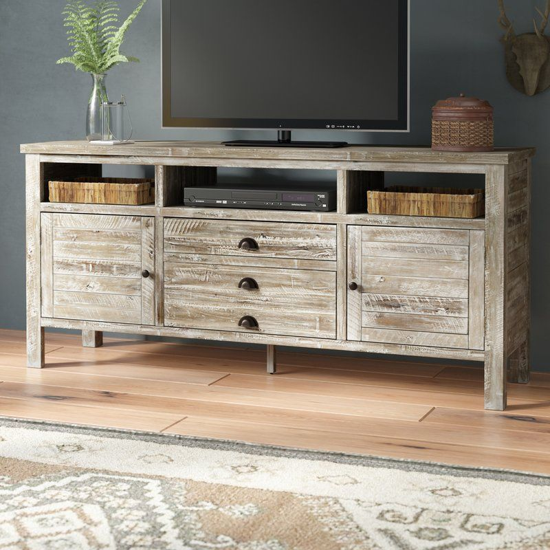 Leonora Entertainment Center For Tvs Up To 70 Solid Wood Tv Stand Entertainment Center Furniture