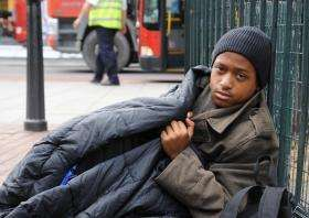 Homeless Spikes Installed To Stop People Sleeping Rough In City Centre People Sleeping Sleeping Rough Homeless